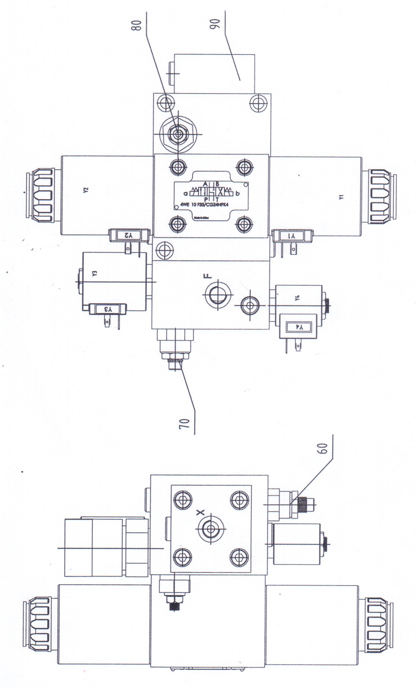 Press Brake Hydraulic Diagram