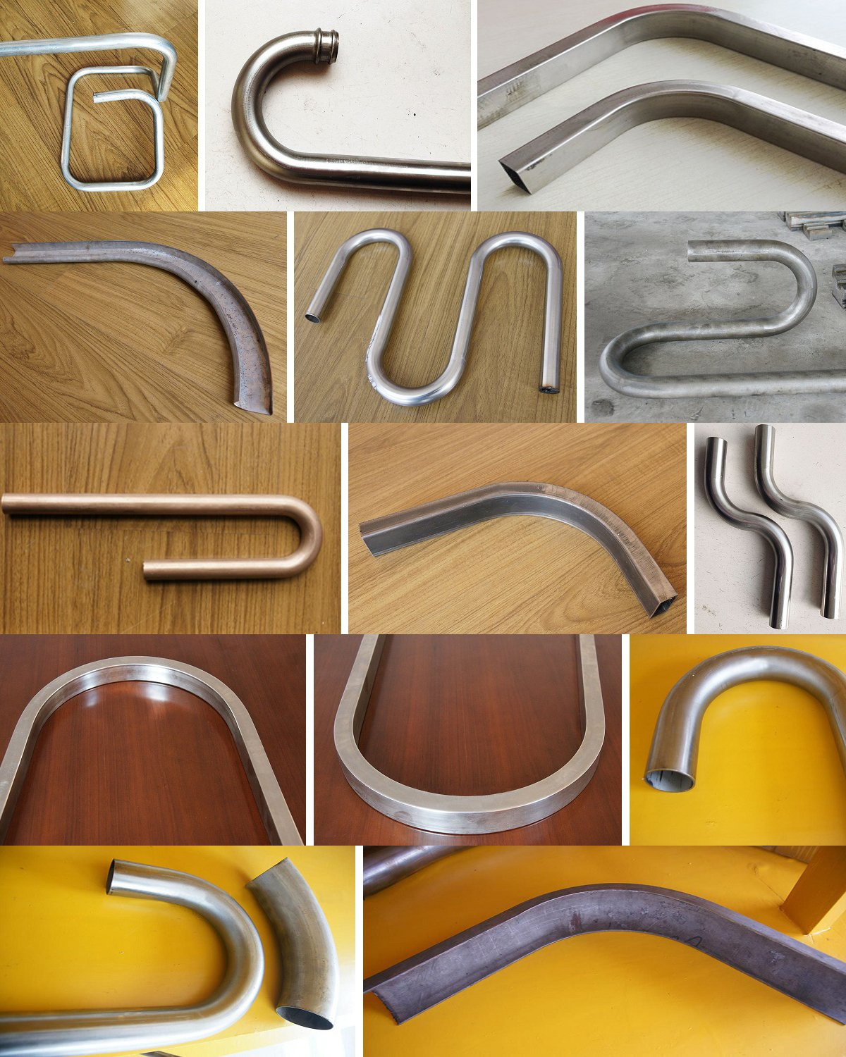 Tube Bending Workpieces Sample