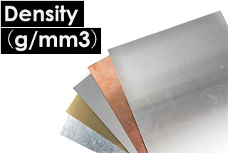 Sheet Metal Materials Density