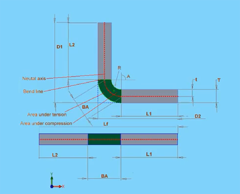 Bend Allowance: Sheet Metal Part Design (Solidworks Tutorial
