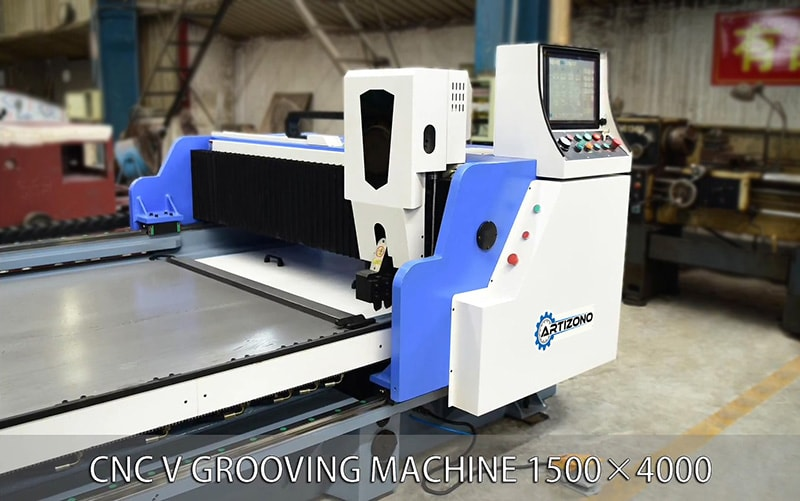 CNC V Grooving Machine for Sheet Metal