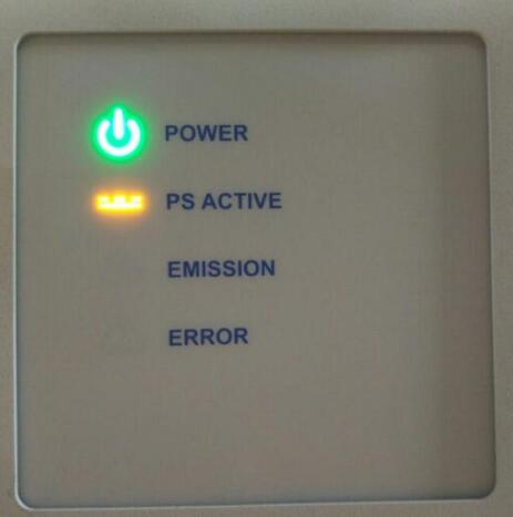 IPG laser source Panel