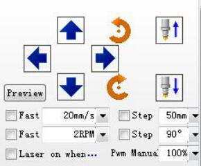Position Controlling Action in the Software