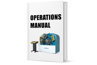 Operation Manual of W24S Hydraulic Profile Bending Machine