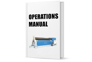 Operation Manual of Three Roller Roll Bending Machine