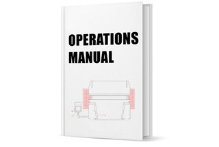 Press Brake Operation Manual (2018 Updated)