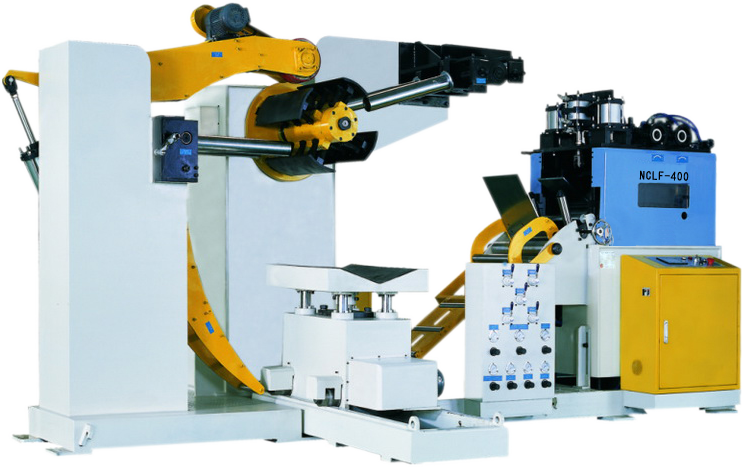 punch press decoiler, leveller, feeder equipment