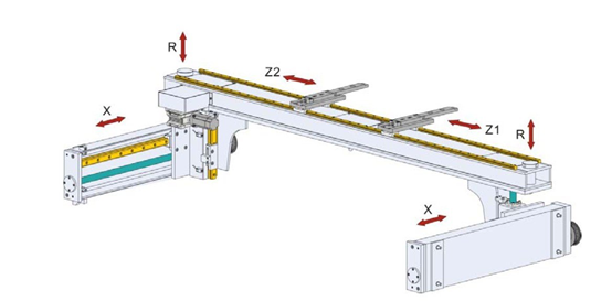 Press Brake Axis Diagram