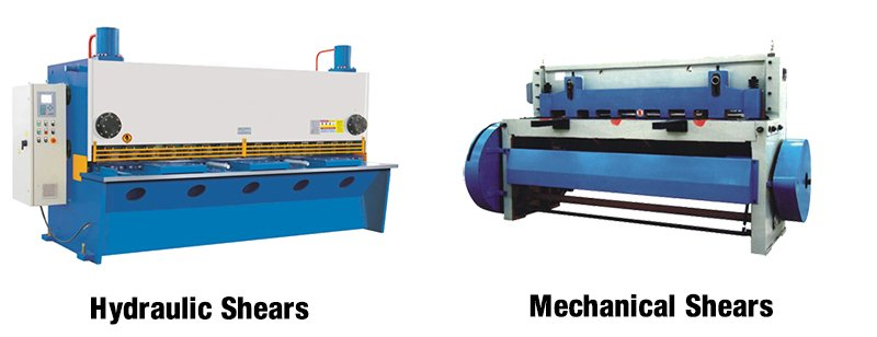 Hydraulic Shears and Mechanical Shears