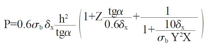 Cutting Force Calculation Formula
