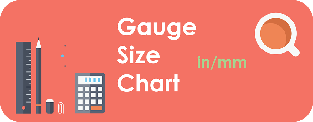 Sheet Metal Gauge Sizes Chart In Inch and mm