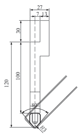 Fig.4 Suspension bending tooling