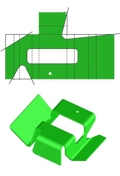 Sheet Metal Bending Process