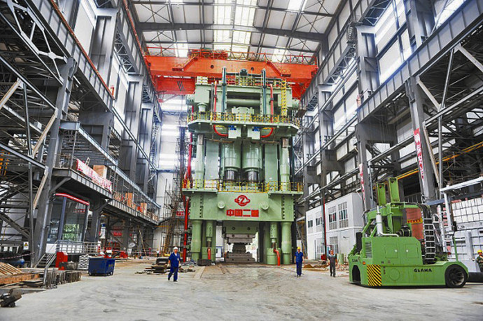 80,000 Ton Die Forging Press