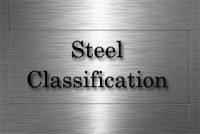Classification of steel