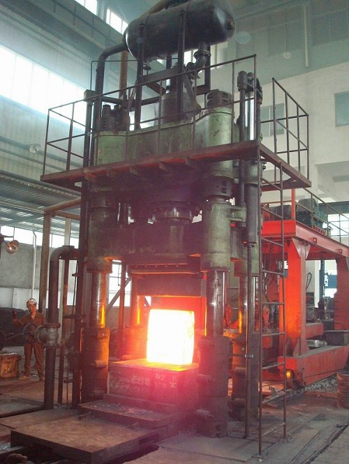Hot forging hydraulic press machine