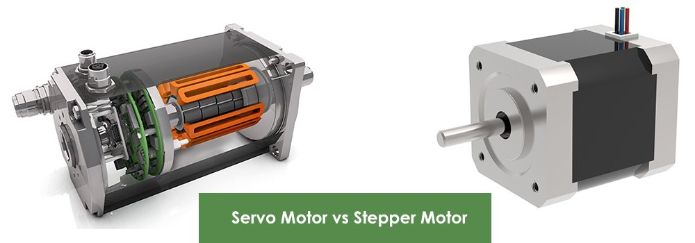 Servo Motor vs Stepper Motor