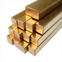 Square Brass Rod