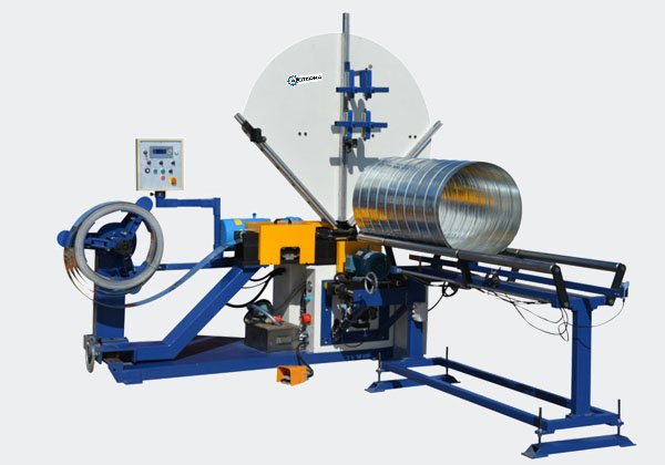 Spiral Duct Machine Features