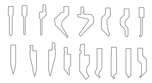 Figure 1-28 Bending knife