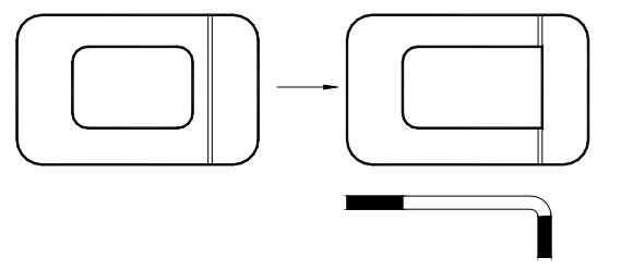 Figure 1-32 Improved bending design
