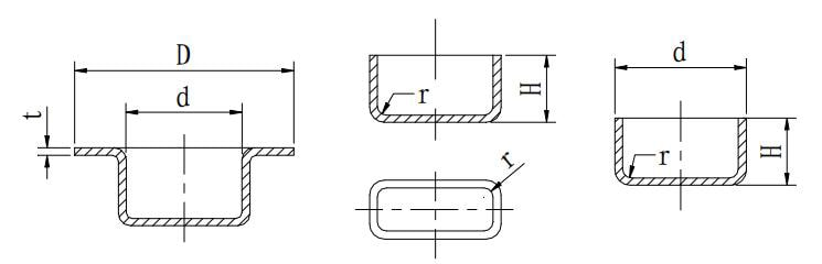 Figure 1-50 Sheet metal stretching design