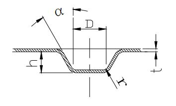 Figure 1-51 Convex on sheet metal