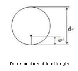 Determination of lead length