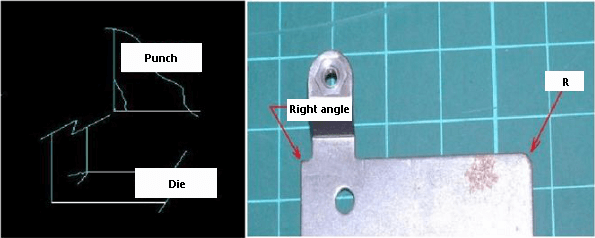 appropriate R angle