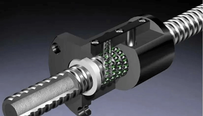 Many industries use ball screws