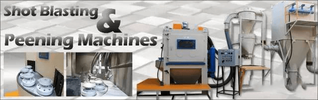 Pneumatic shot blasting machine