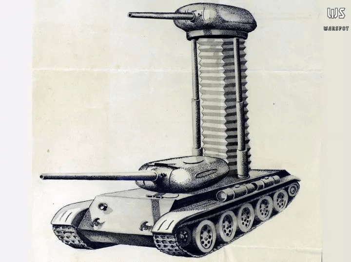 The dual-turret tank