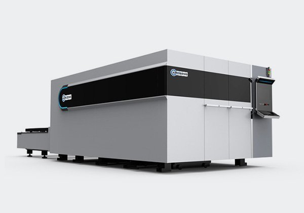Enclosed Fiber Laser Cutter